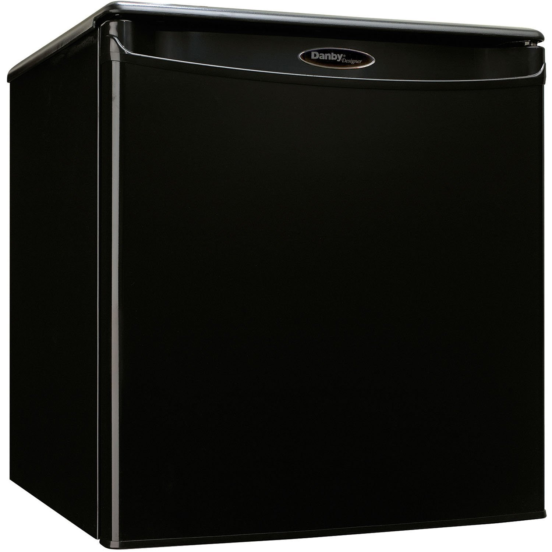 Premium Mini Fridge Appliances Compact Small Apartment Size Refrigerator in Black