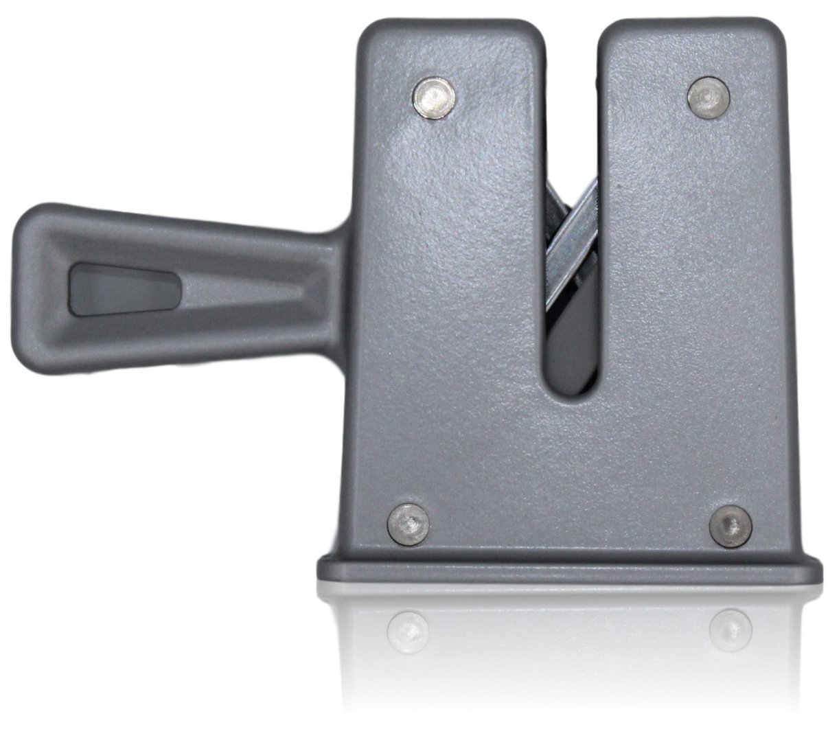Knife Sharpener/Honing tool with Chantry sprung honing technology, for professional/commercial or home kitchen use. Easy, yet as effective as a sharpening steel/honing steel. By Taylors Eye Witness (Black) Kitchen Knives and Sharpeners Knife Sharpeners st
