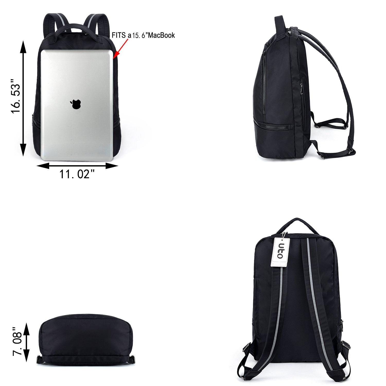 UTO Fashion Nylon Backpack Functional School Gym Sport Hiking Bag 3M Reflective Straps by UTO (Image #7)