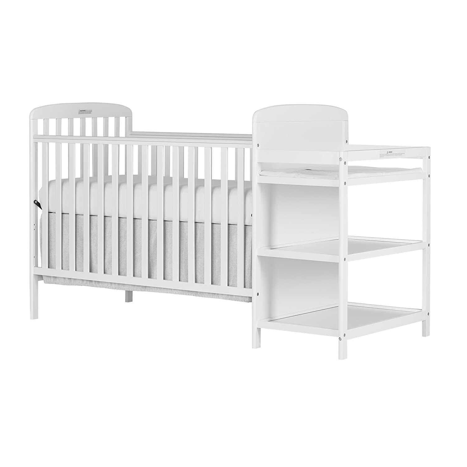Dream On Me, Anna 4 in 1 Full Size Crib and Changing Table Combo 678-K