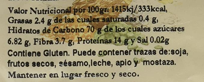 Bionsan Harina Blanca de Trigo Espelta Ecológica | 4 Paquetes de ...