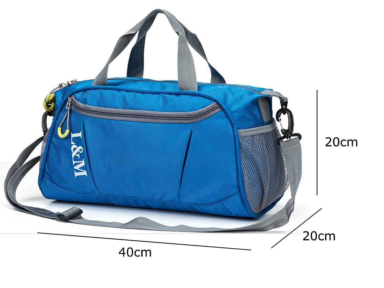 deporte Pleasant Place impermeable Bolsa de gimnasio bolsa de viaje para hombres y mujeres compartimentos seco y mojado bolsa de nataci/ón