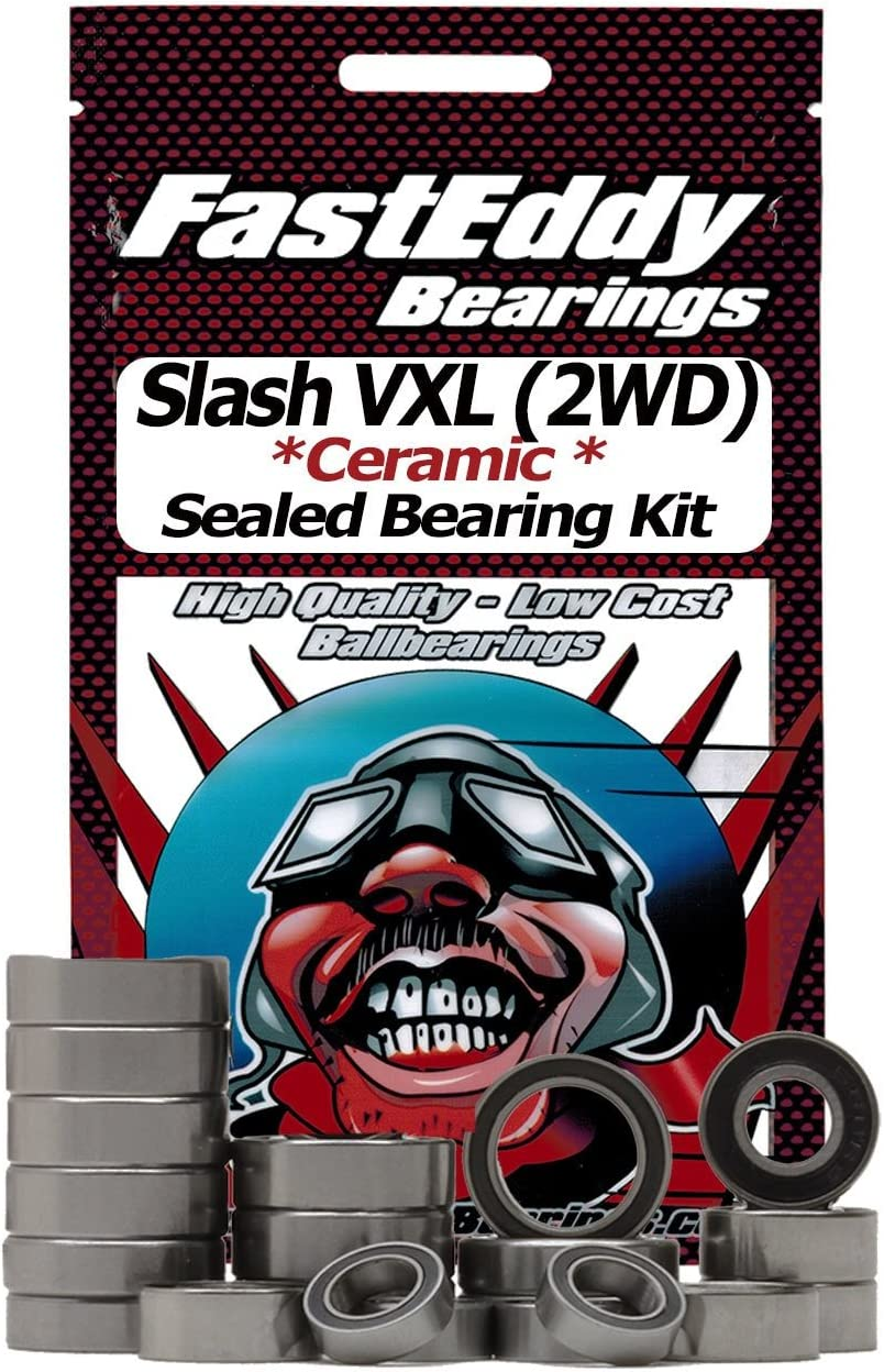 Traxxas Slash VXL (2WD) SC Truck Ceramic Rubber Sealed Bearing Kit