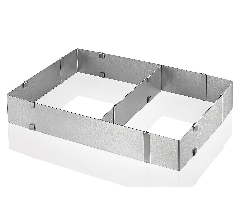 Küchenprofi 0805842800 Cake ring adjustable, rectangular