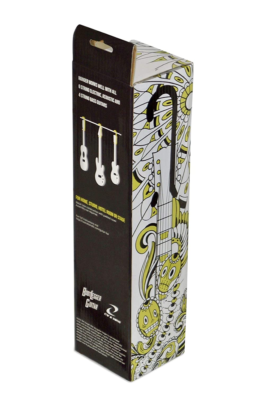 Guitar Bar Hanger 12 inch Closet Hanger//Display for Electric Acoustic 4 String Bass Uke.