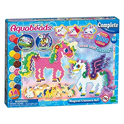 AQUA BEADS 31489 Unicorn playset: Toys & Games