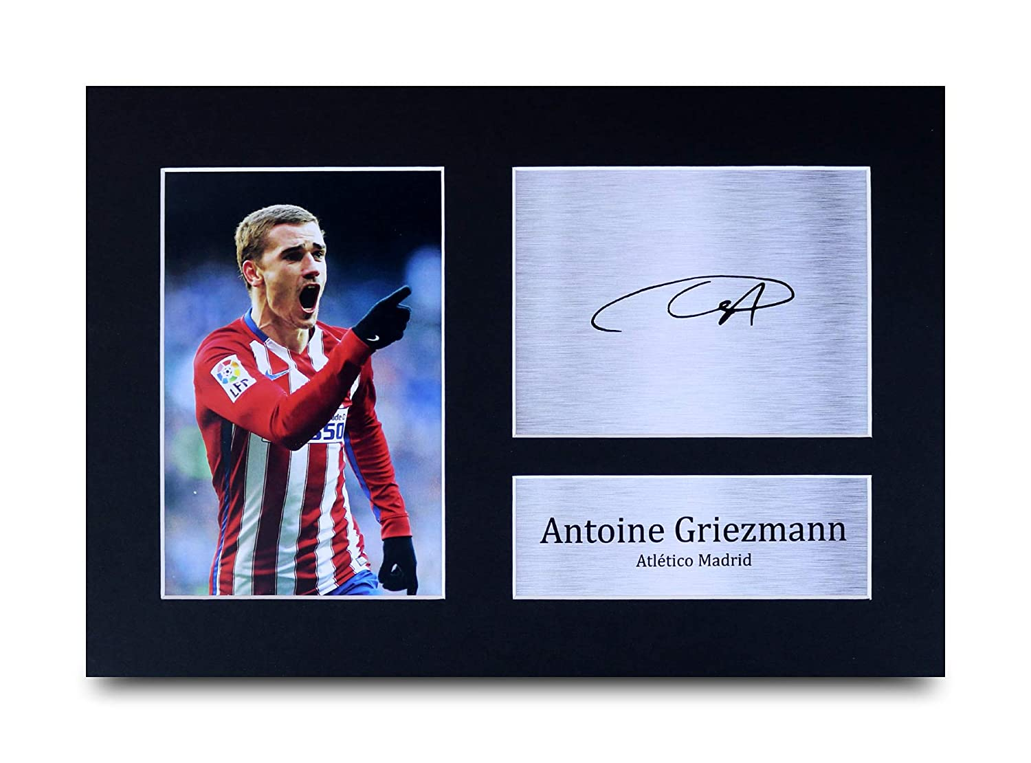 HWC Trading FR Sergio Ramos Gift Signed FRAMED A4 Printed Autograph Real Madrid Gifts Print Photo Picture Display