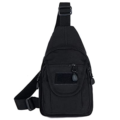 b3666d08f081 YOUNGBEST Tactical Sling Bag Military Sport Shoulder Gym Chest Backpack  Crossbody Bags Men Women for Camping Hiking