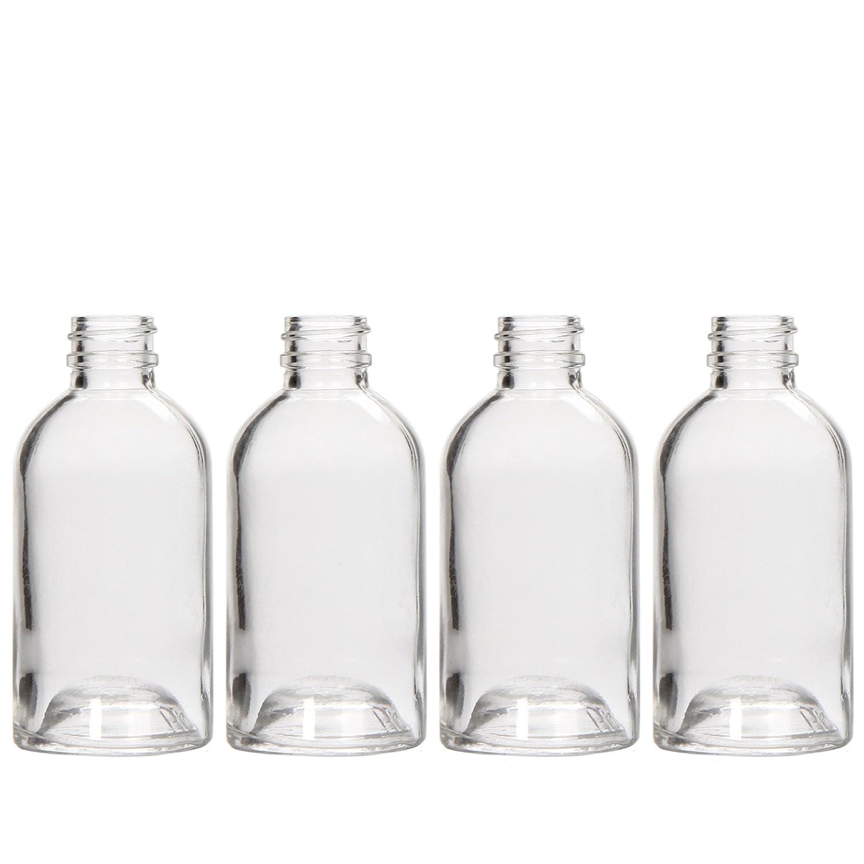 Hosley Diffuserボストンラウンド、ガラスのディフューザーボトル、85 ml Largeボストンラウンドスタイル。の保存Essential Oils B017O33KA2