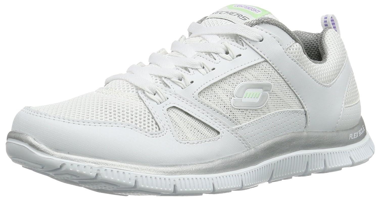 Skechers Flex Appeal Spring Fever Damen Sneakers  355 EU|Wei? (Wsl)