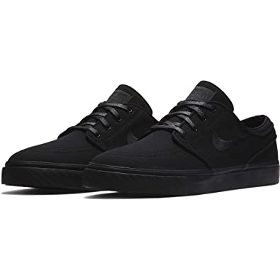 latest selection official price classic shoes Nike SB Zoom Stefan Janoski Canvas Men's Shoes - 615957 (9 D(M) US,  Black/Black-Anthracite)