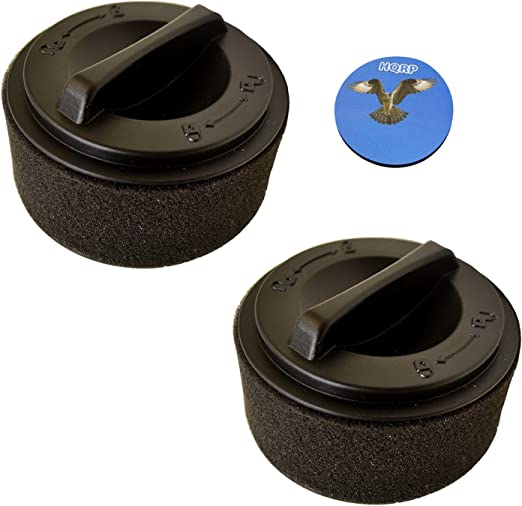 2-Pack HQRP Inner Outer Filter for Bissell PowerForce 23T7V 23T75 23T76 23T78