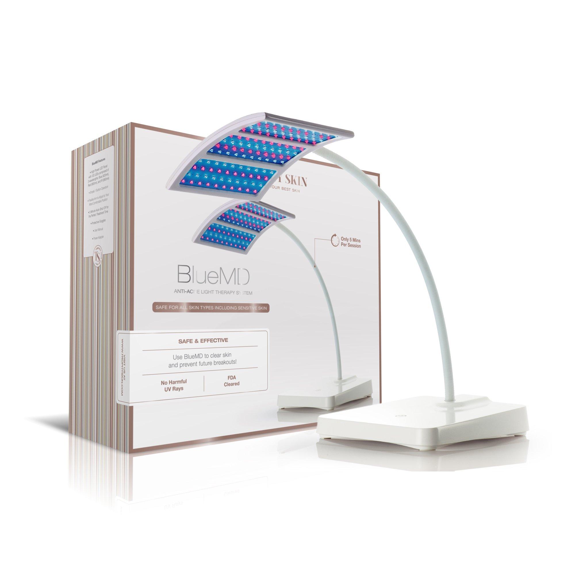 Trophy Skin BlueMD Blue LED Acne Light Therapy Beauty Device