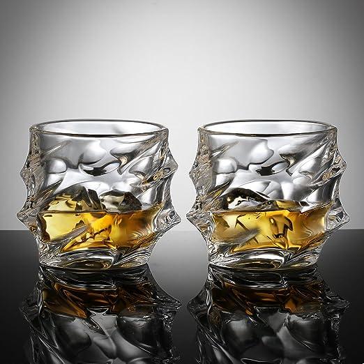 4 opinioni per Ecooe 320ml bicchieri tumbler per whisky, scotch, bourbon, e altro ancora. Set