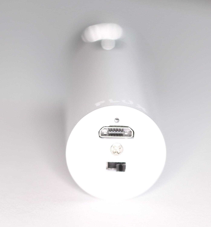 Flux® Mechero eléctrico láser 360 con USB, linterna, plasma de doble arco, respetuoso con el medio ambiente, resistente al viento, recargable por USB, ...