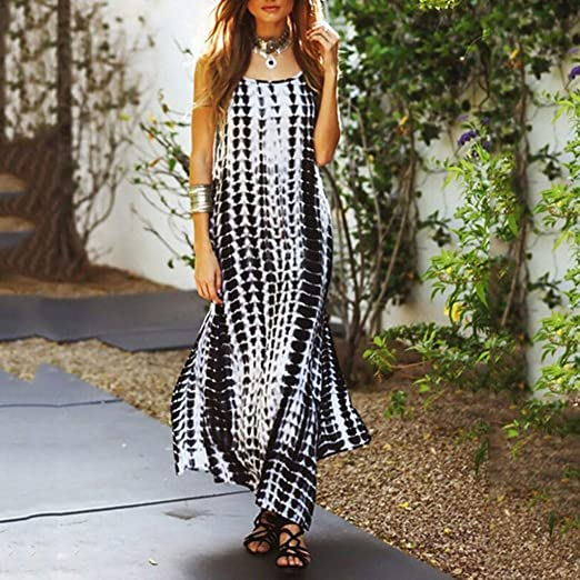 MIRRAY damska solidna sukienka letnia z krÓtkim rękawem luźna sukienka środkowa: Odzież