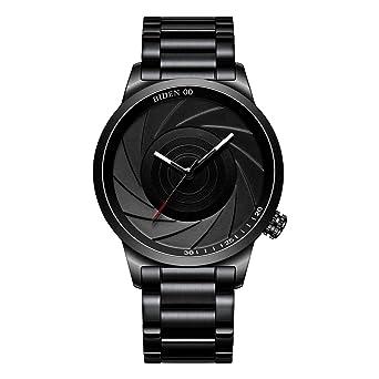 Amazon.com: Relojes Hombres Relojes Negro Simple Moda ...