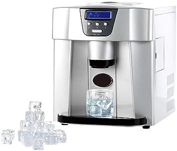 Rosenstein & Söhne – Cubitera: cubitos de hielo eléctrica EWS-2100 con dispensador de