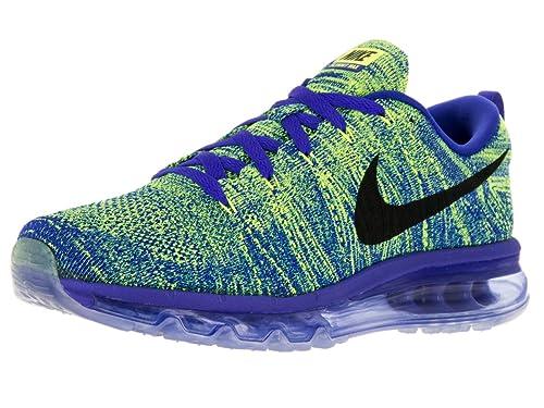 new style ff144 dde22 Nike Uomo Flyknit Max Scarpe da Corsa Multicolore Size 44 12