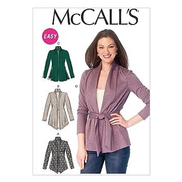 McCalls MC 6996 Y(XSM-SML-MED) Schnittmuster zum Nähen, Elegant ...