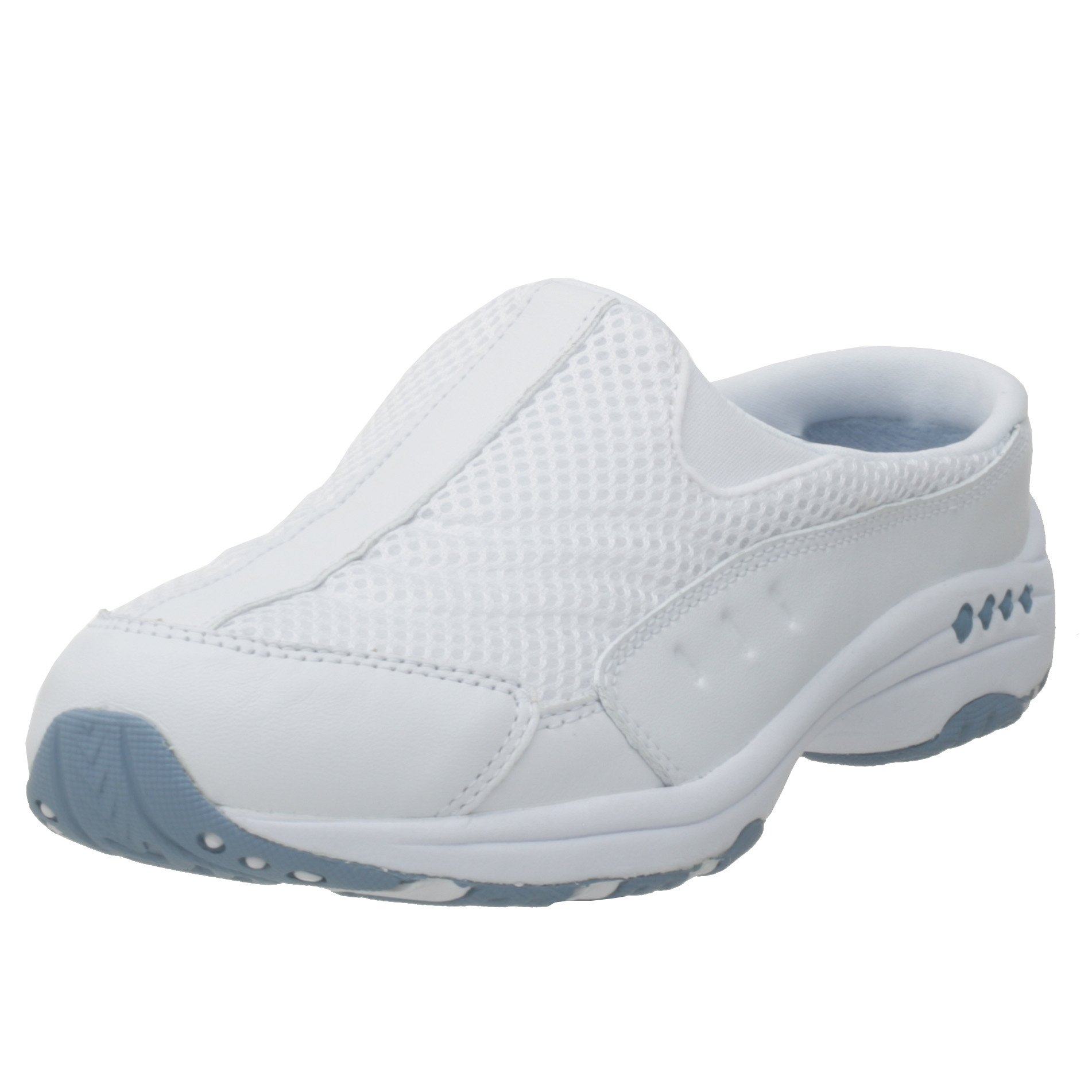 Easy Spirit Women's TRAVELTIME Shoe, white, 8.5 W US