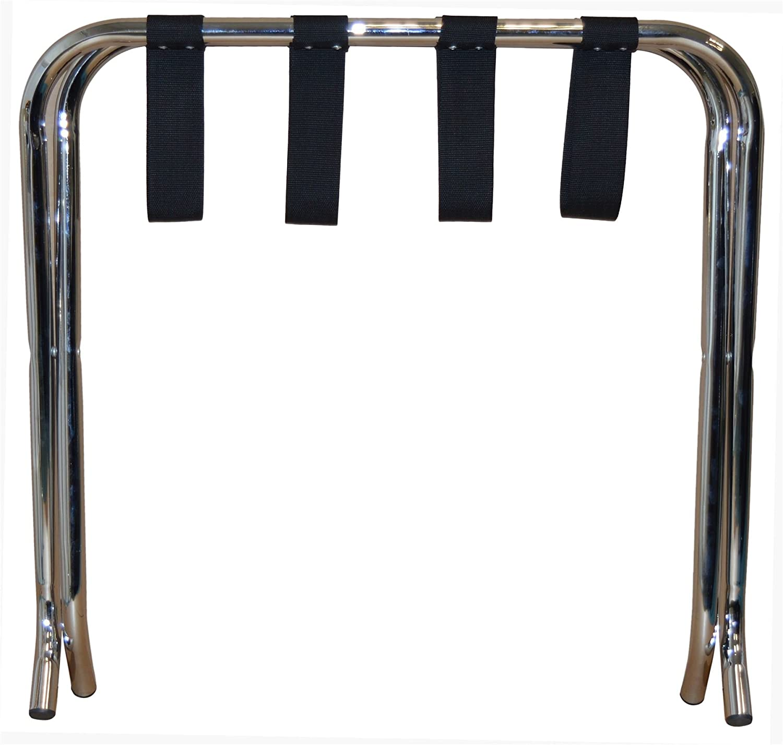 Pack de 6 Chrome Para el Hogar Harbor plegables de metal Bastidores de equipaje