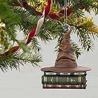 Ornamento Do Chapéu Seletor De 6 Polegadas Harry Potter - Com Som E Movimento, Chapéu Seletor Para árvore De Natal…