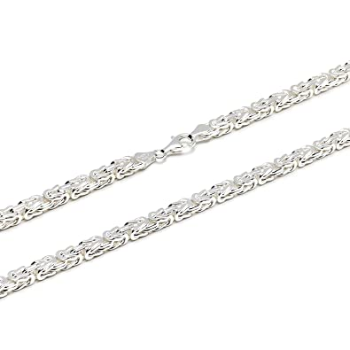 925 Silberkette  Königskette Silber 5mm und 55cm - KK-50-55  Amazon ... 3c9e58fbf3