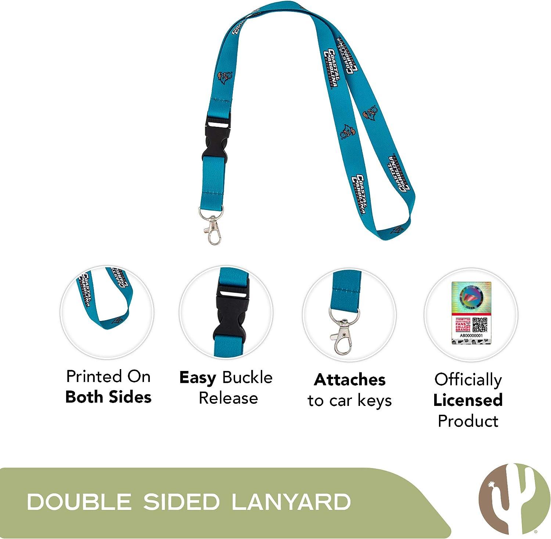 New Jersey Institute of Technology Highlanders NCAA Car Keys ID Badge Holder Lanyard Keychain Detachable Breakaway Snap Buckle