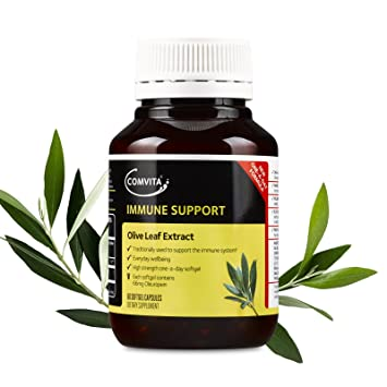 Comvita Olive Leaf Extract, Natural Cardiovascular Support, High Strength  Capsules, Health Supplement (60