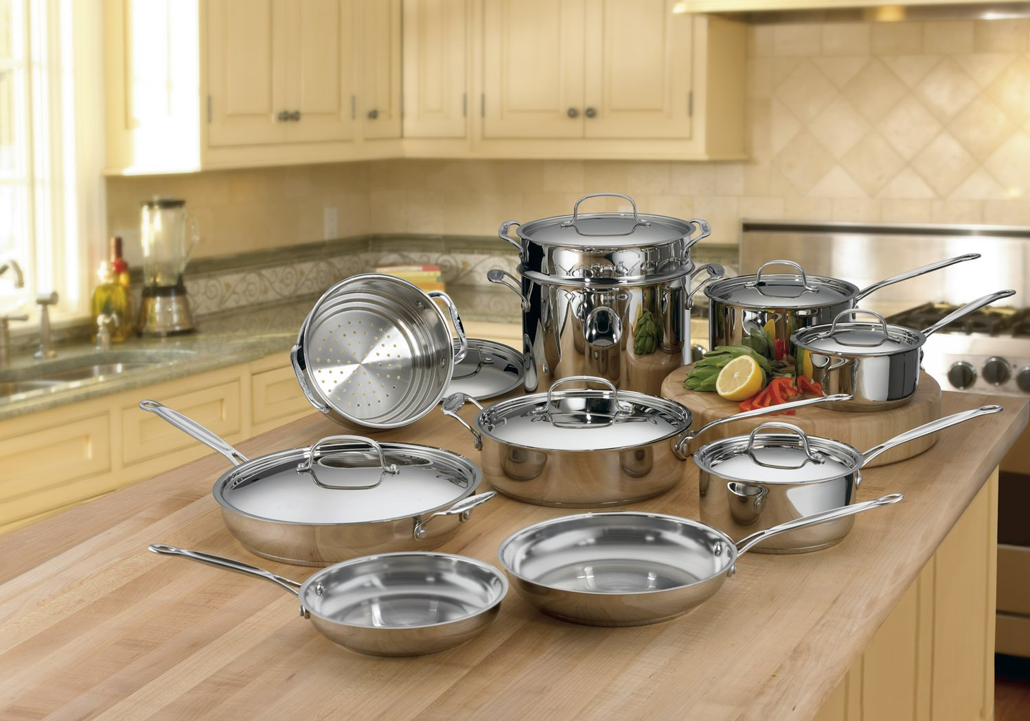 Cuisinart 77-17 Chef s Classic Stainless 17-Piece Cookware Set DISCONTINUED BY MANUFACTURER