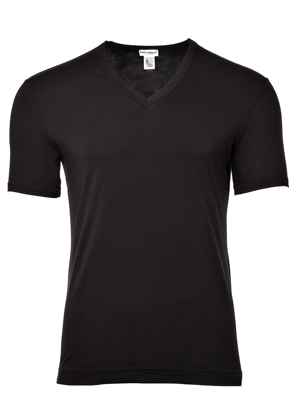 Dolce & Gabbana  Men's Tailoring V-Neck T-Shirt Black 5
