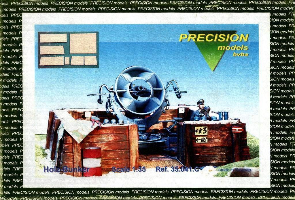 Precision Models 1:35 Holz Bunker Multimedia Diorama Kit #35.041.C