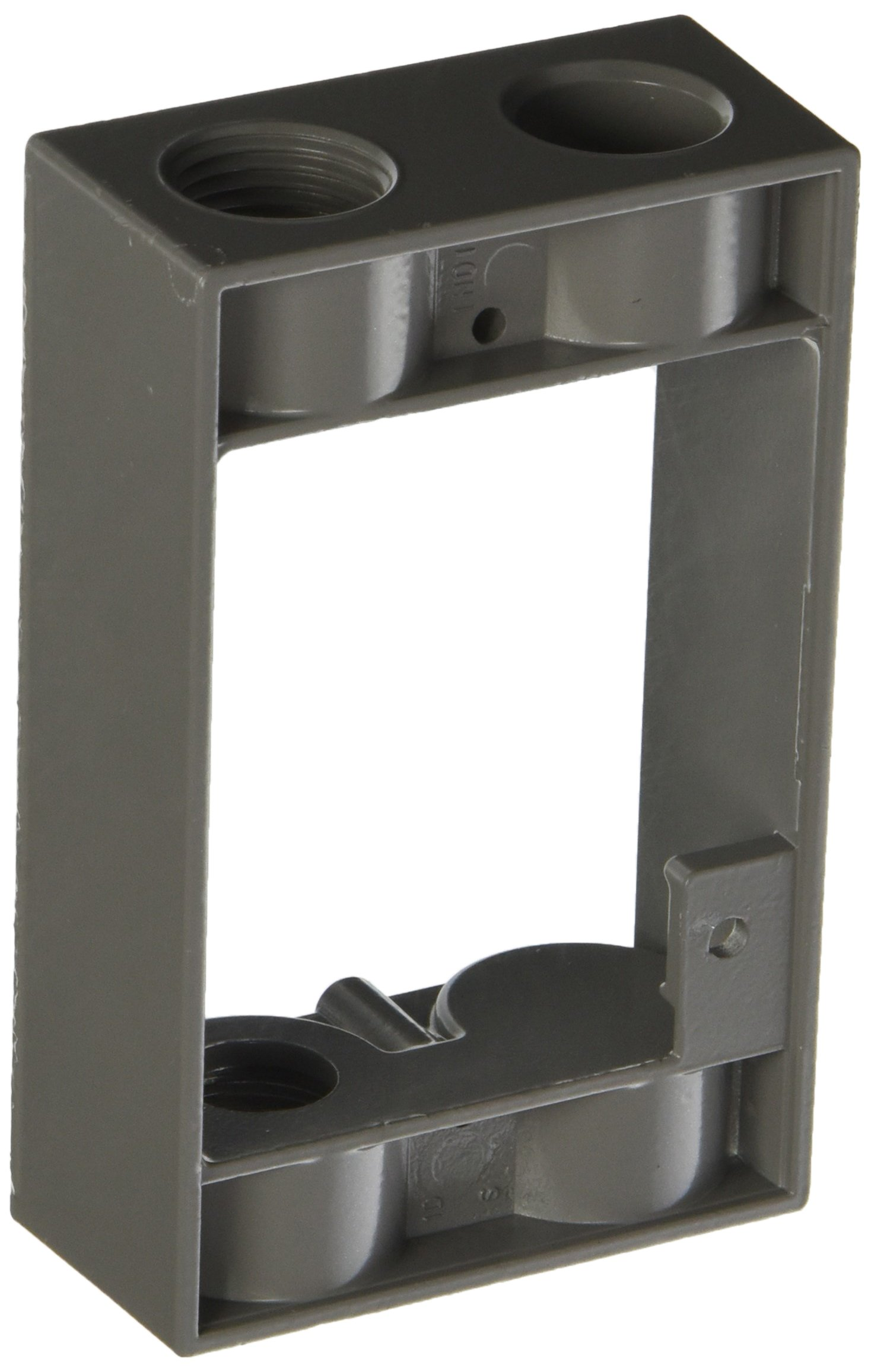 Hubbell-Bell 5399-0 Weatherproof Box Extension Adapter, 5-1/4-Inch X 3-1/2-Inch