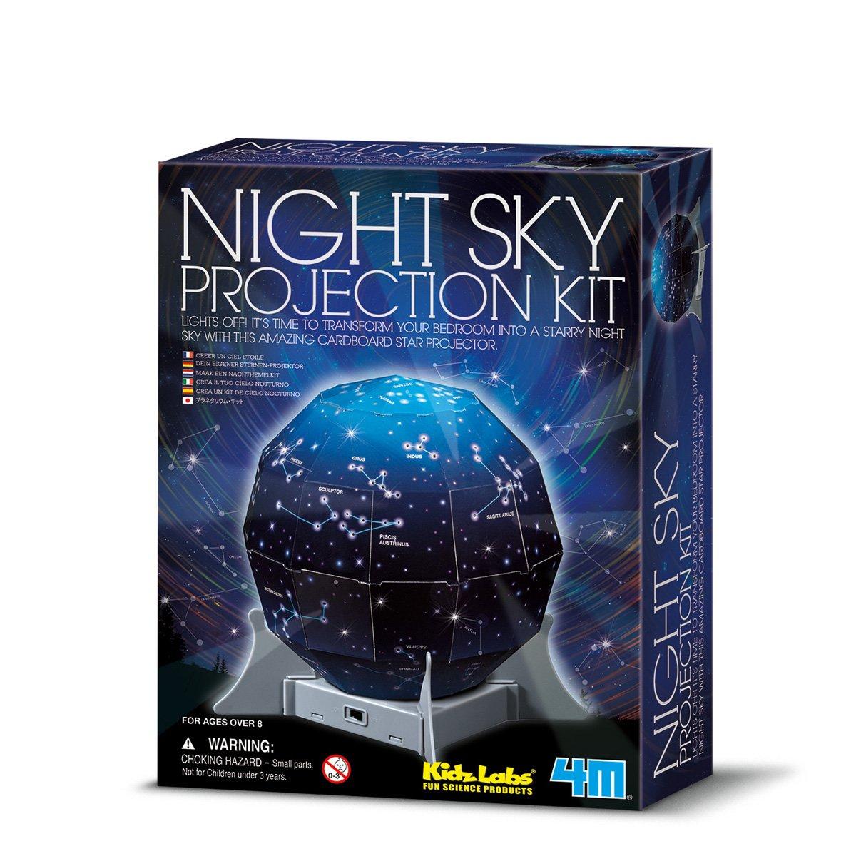 Great Gizmos- Night Sky Projection Kit Ciencia (4M 4112): Amazon ...