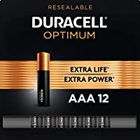 Duracell Optimum AAA Batteries | Premium Triple A 1.5V Alkaline Battery | Convenient...