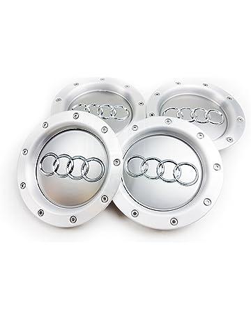 Juego de 4tapones de aleación para rueda con logotipo RS4 (9