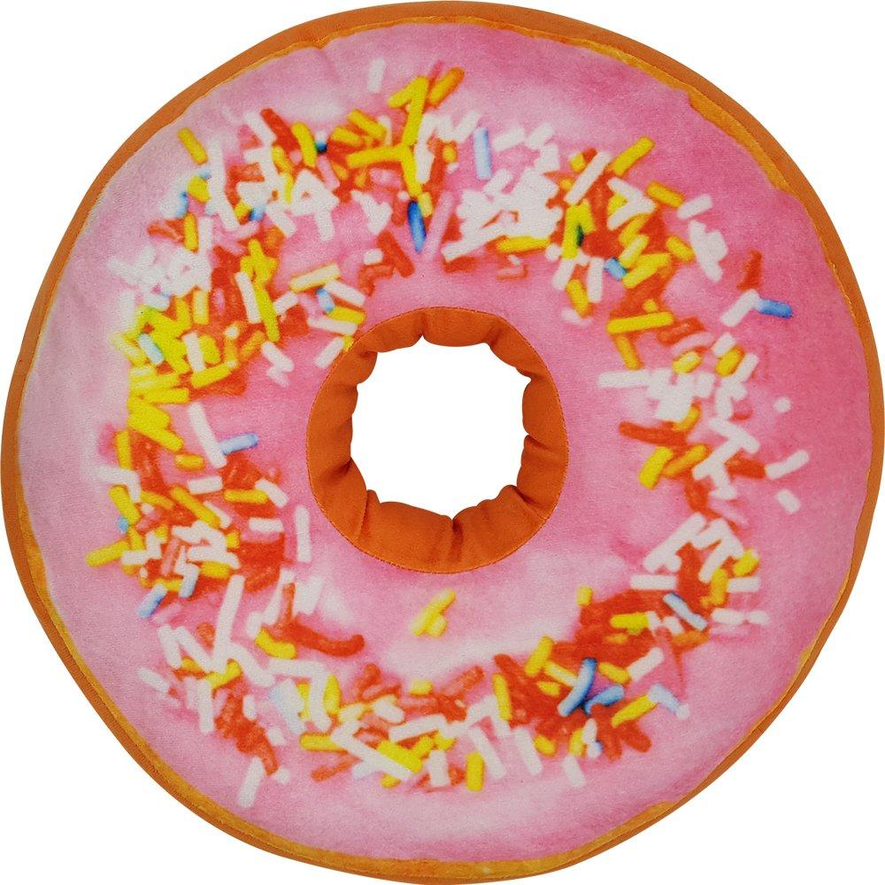 Diff/érentes variables /à choisir Coussin Donut 40 cm Couleur:Mehrfarbig Coussin d/écoratif doux avec forme de donut