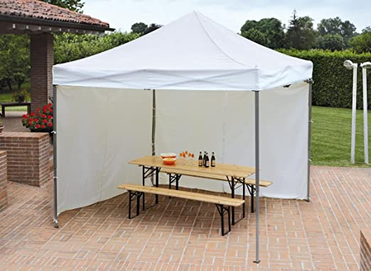 3x3 gazebo plegable aluminio mt: Amazon.es: Jardín
