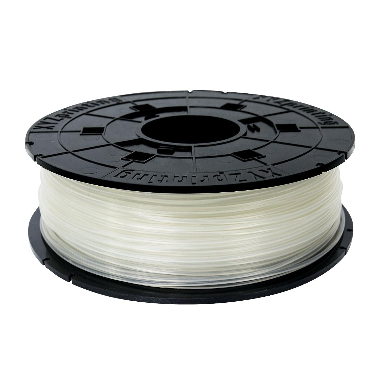 XYZprinting RFPLAXEU08A Filamento PLA, 600 gr, 12 Piezas, Natural