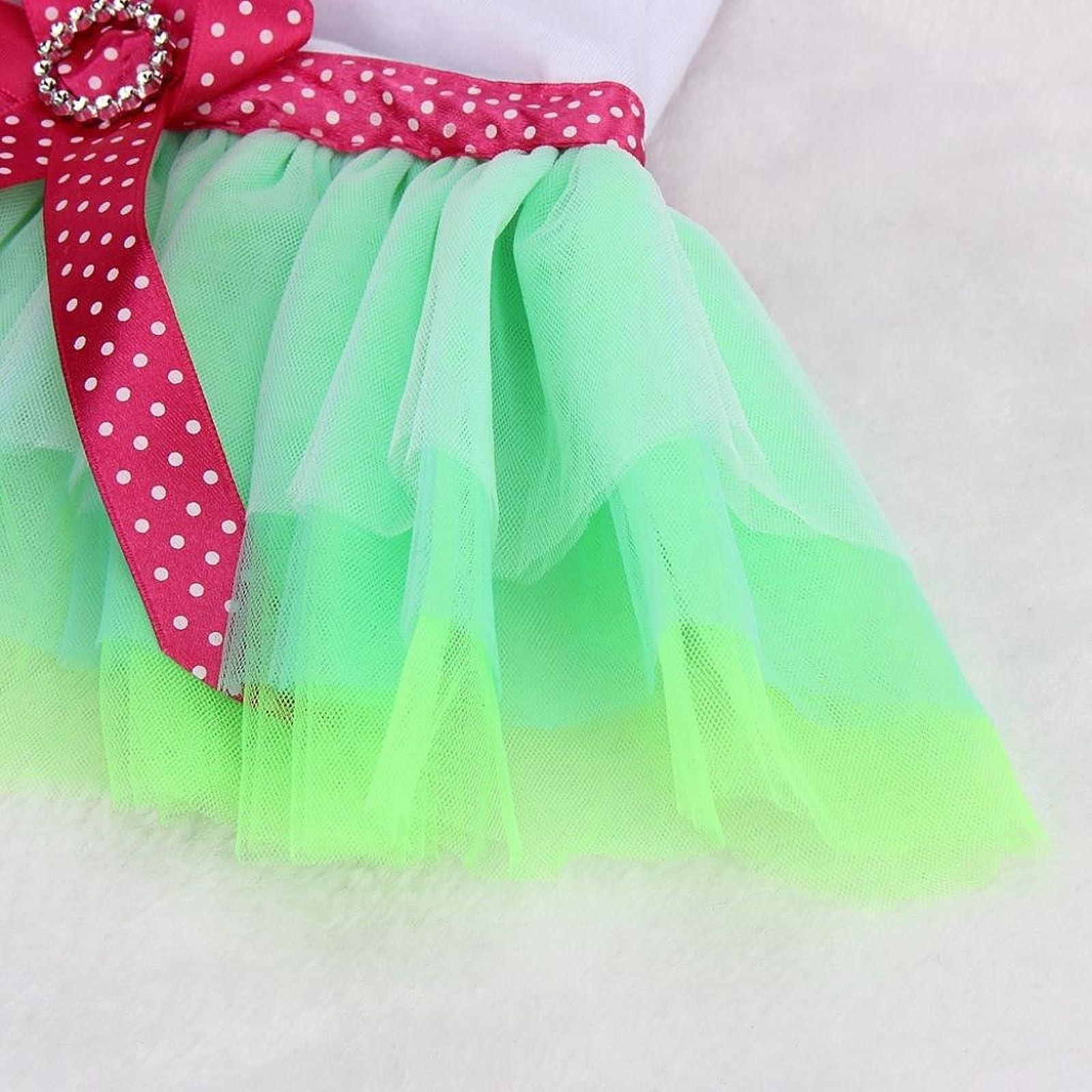 OutTop Girl Dog Dress Lace Princess Tutu WSM60224084S_YD - 4
