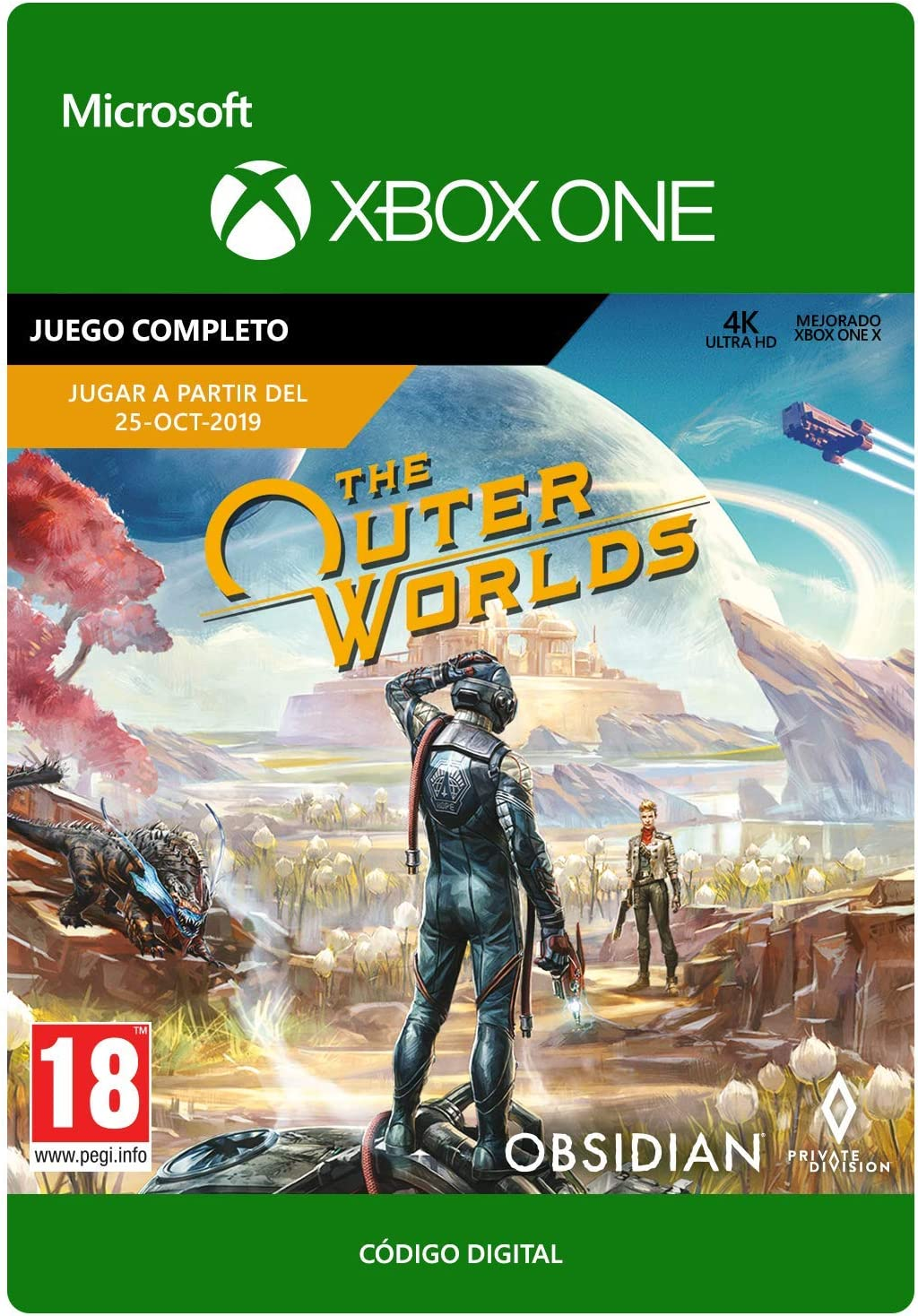The Outer Worlds | Xbox One - Código de descarga: Amazon.es ...