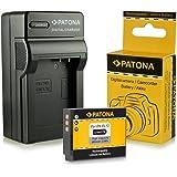 Caricabatteria + Batteria EN-EL12 per Nikon CoolPix AW100 | AW110 | P300 | P310 | P330 | S31 | S70 | S710 | S610 | S610c | S620 | S630 | S640 | S800c | S1000pj | S6100 | S6300 | S6400 | S8000 | S8100 | S9100 | S9200 | S9300 | S9400 | S9500