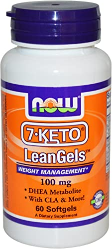 7-Keto LeanGels 100mg 60 Softgels Pack of 2