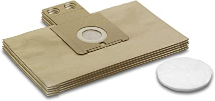 Ricambi e accessori Karcher : Sacchetti aspirapolvere per
