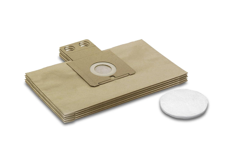 Karcher Filter Set 6904-257 5 Filter Bags + 1 Micro Filter