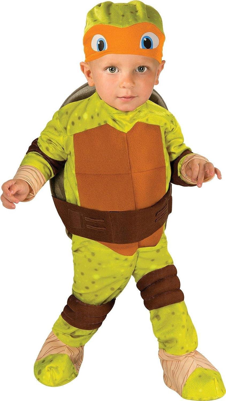 Teenage Mutant Ninja Turtle Toddler Costume Michelangelo (Orange) - Toddler