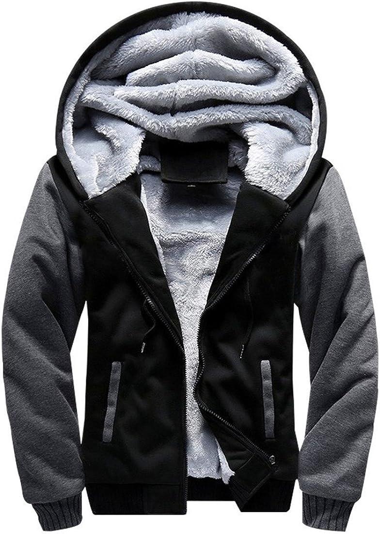 GERALDS Fashion Mens Fur Hood Down Padded Coat Collar Jacket Thick Winter Coat