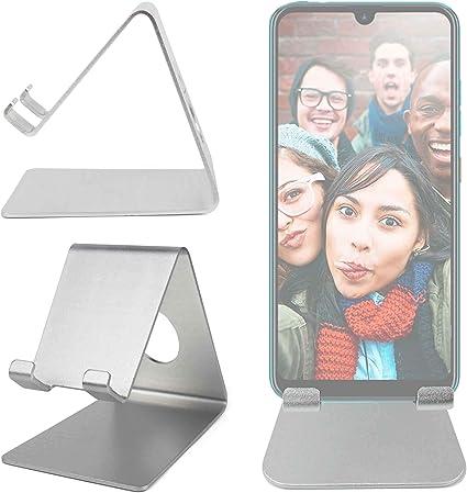 DURAGADGET Atril De Aluminio Compatible con Smartphone Orange Neva ...