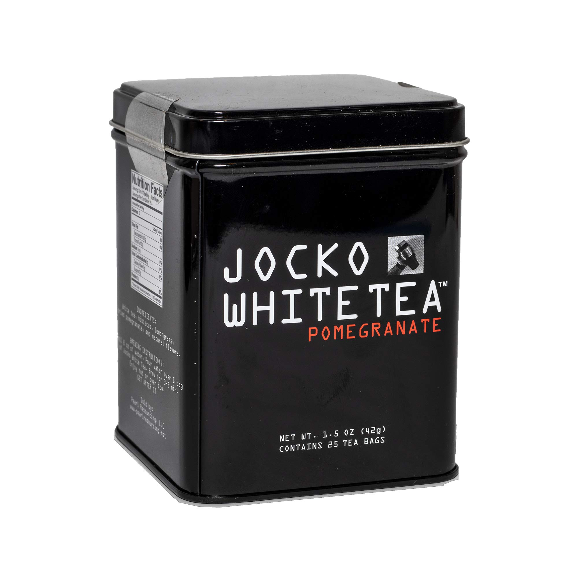 JOCKO WHITE TEA 25 CT by Jocko White Tea
